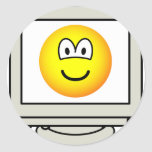 Computer screen emoticon   sticker_sheets