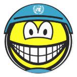 UN soldier smile   sticker_sheets