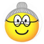 Grandma emoticon   sticker_sheets
