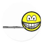 Flute smile   sticker_sheets