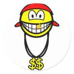 Rapper smile   sticker_sheets