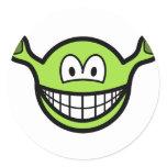 Shrek smile   sticker_sheets