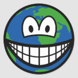 Earth smile   sticker_sheets