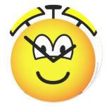 Alarm clock emoticon   sticker_sheets