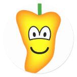 Chili pepper emoticon   sticker_sheets