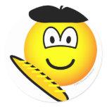 Frenchman emoticon   sticker_sheets