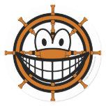 Ships wheel smile   sticker_sheets