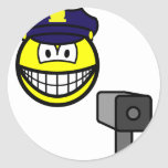 Lazer gun cop smile   sticker_sheets