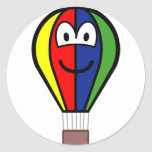 Balloon buddy icon Colorful  sticker_sheets