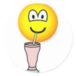 Milkshake emoticon   sticker_sheets