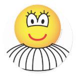 Ballerina emoticon   sticker_sheets