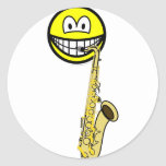 Saxophone smile   sticker_sheets