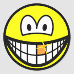Gold tooth smile   sticker_sheets