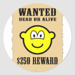 Wanted poster buddy icon   sticker_sheets