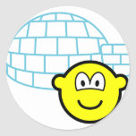 Igloo buddy icon Building  sticker_sheets