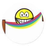 Hammock smile   sticker_sheets
