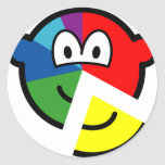 Pie chart buddy icon Highlighted  sticker_sheets