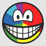 Pie chart smile   sticker_sheets