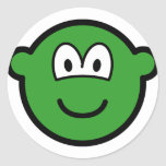 Colored buddy icon green  sticker_sheets
