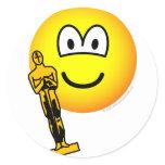 Oscar winning emoticon   sticker_sheets