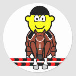 Horse show jumping buddy icon Olympic sport Equestrian sticker_sheets