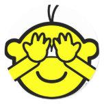 Peek-a-boo buddy icon   sticker_sheets