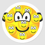 Multiple personality emoticon   sticker_sheets