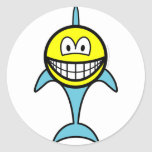 Dolphin smile   sticker_sheets