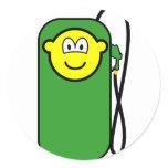 Gas station buddy icon Petrol pump  sticker_sheets