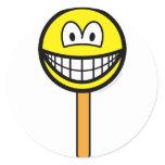 Ice cream on a stick smile   sticker_sheets