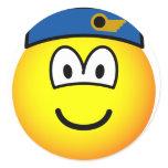 Stewardess emoticon   sticker_sheets