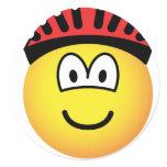 Biker emoticon   sticker_sheets