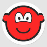 Colored buddy icon red  sticker_sheets