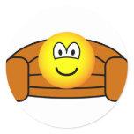 Couch potato emoticon   sticker_sheets