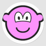 Colored buddy icon pink  sticker_sheets
