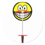 Pogo Stick smile   sticker_sheets