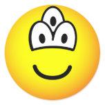 Drieoogige emoticon   sticker_sheets