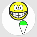 Snowcone eating smile   sticker_sheets