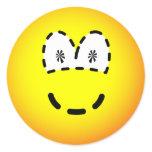 Dashed emoticon   sticker_sheets