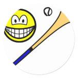 Hurling smile   sticker_sheets
