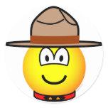 Canadian mountie emoticon   sticker_sheets