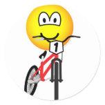 BMX emoticon Olympic sport Cycling sticker_sheets