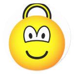 Space hopper emoticon   sticker_sheets