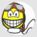 Pilot smile Old fashioned  sticker_sheets