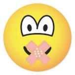 Silent emoticon   sticker_sheets