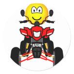 Quad bike emoticon China quad  sticker_sheets