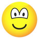 Bald emoticon   sticker_sheets