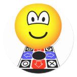 Dance dance revolution emoticon   sticker_sheets