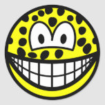 Leopard smile   sticker_sheets