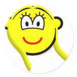 Virgo buddy icon Zodiac sign  sticker_sheets
